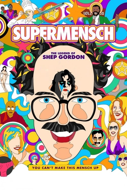 Largescale poster for Supermensch: The Legend of Shep Gordon
