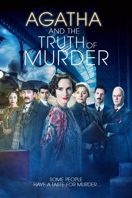 Agatha and the Truth of Murder Poster