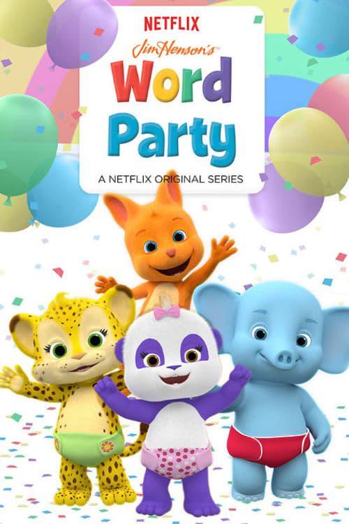 Poster von Wortparty