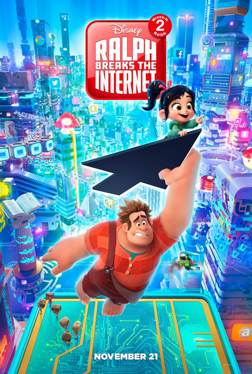 Poster. Ralph Breaks the Internet (2018)