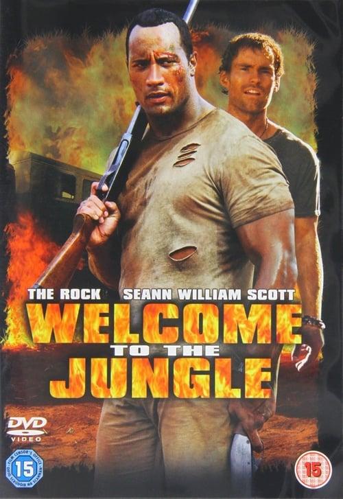Grootschalige poster van Welcome To The jungles