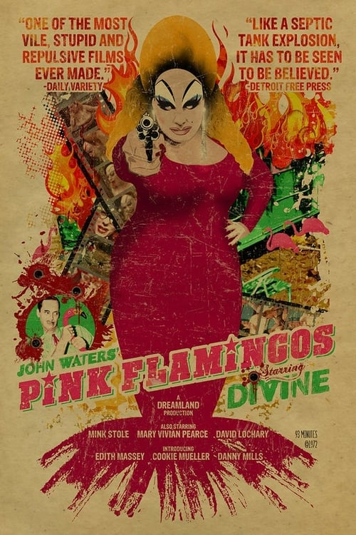 Largescale poster for Pink Flamingos