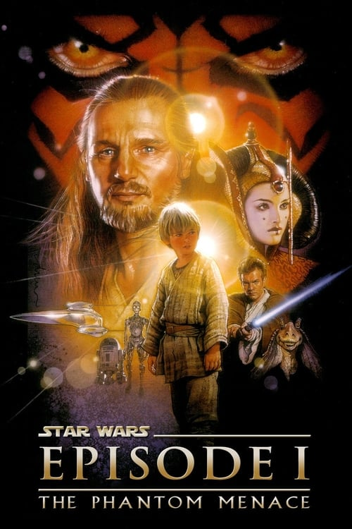 Largescale poster for Star Wars: Episode I - The Phantom Menace