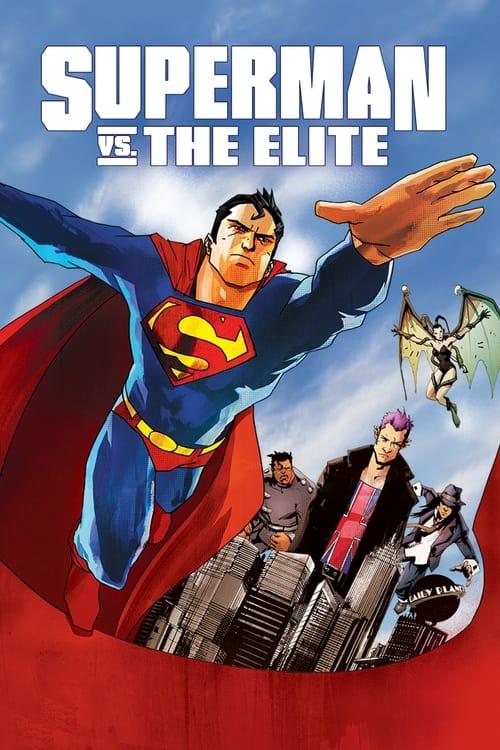 Superman vs. The Elite (2012) Poster