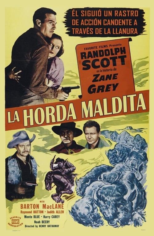 Mira La horda maldita (La Estampida de búfalos) En Buena Calidad Hd 1080p