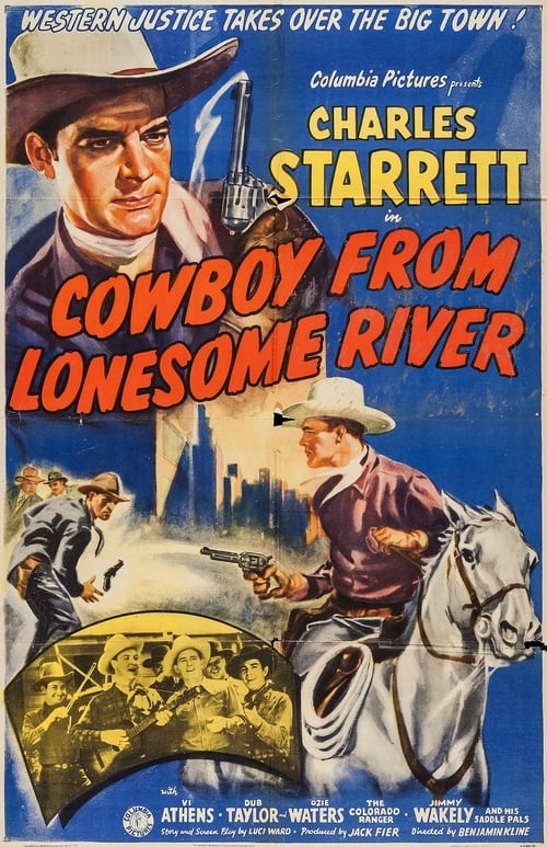 Ver pelicula Cowboy from Lonesome River Online
