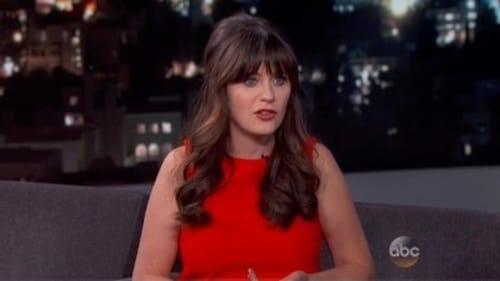 Jimmy Kimmel Live 2015 Hd Tv: Season 13 – Episode Zooey Deschanel, Guillermo Diaz, Charlie Wilson