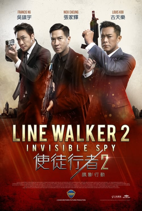 Line Walker 2: Invisible Spy Poster