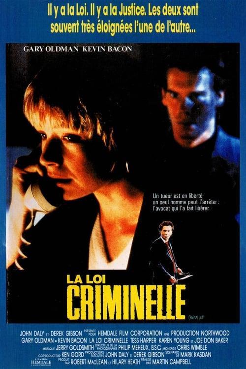 La Loi Criminelle - Criminal Law - 1988