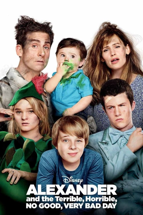 Alexander and the Terrible, Horrible, No Good, Very Bad Day - Poster