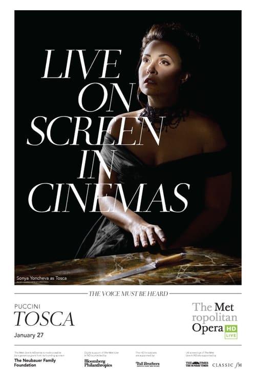 Tosca: Met Opera Live tv Hindi HBO 2017