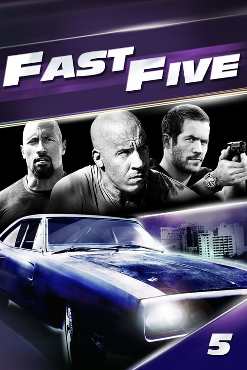 Poster for the movie, 'Fast Five'