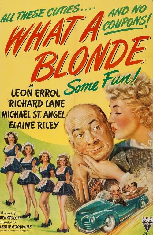 Película What a Blonde En Buena Calidad