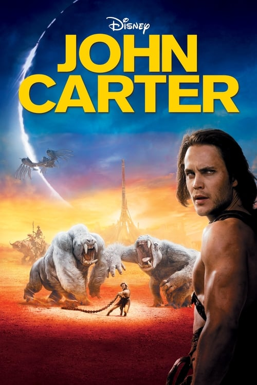 Poster for the movie, 'John Carter'