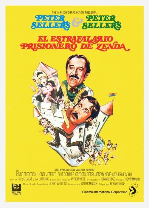 Película El estrafalario prisionero de Zenda En Buena Calidad Hd
