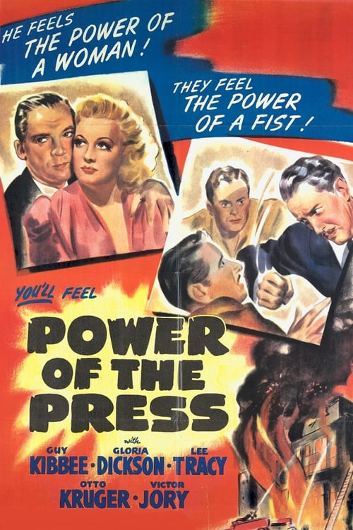 Regarde Le Film Power of the Press De Bonne Qualité