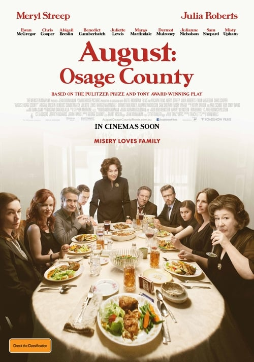 Streaming August: Osage County (2013) Full Movie
