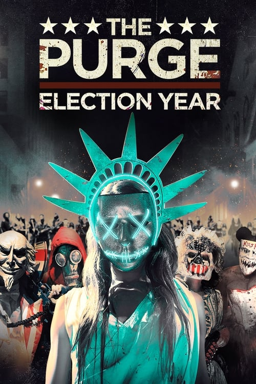 Largescale poster for The Purge: Election Year