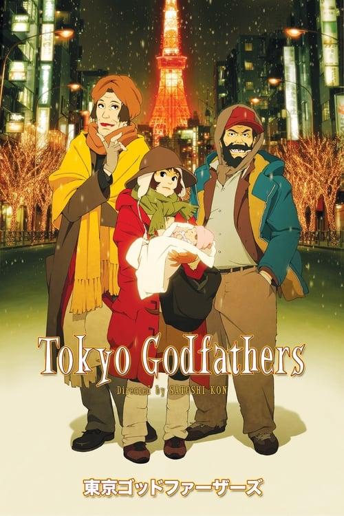 Vidéo Tokyo Godfathers Plein Écran Doublé Gratuit en Ligne ULTRA HD
