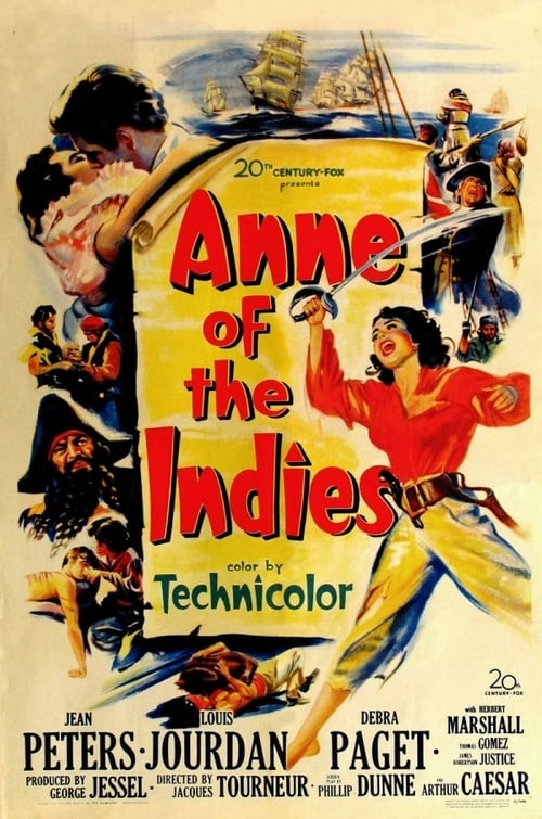 Anne of the Indies poster