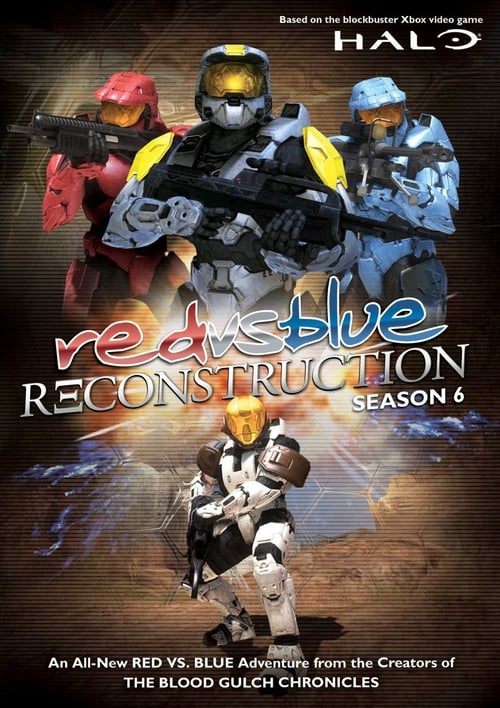 Largescale poster for Red vs. Blue - Reconstruction