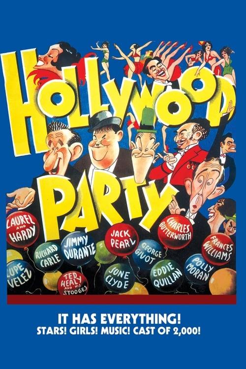 Mira Hollywood Party En Español En Línea