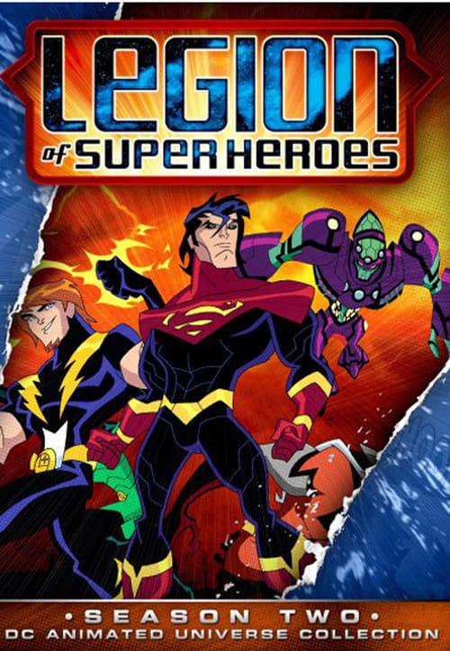 Subtitles Legion of Super Heroes Season 2 in English Free Download