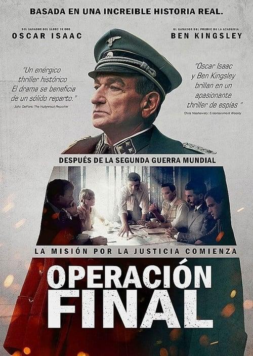 Película Operación Final Completamente Gratis