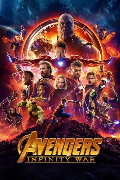 Avengers: Infinity War IMAX 3D Movie Poster