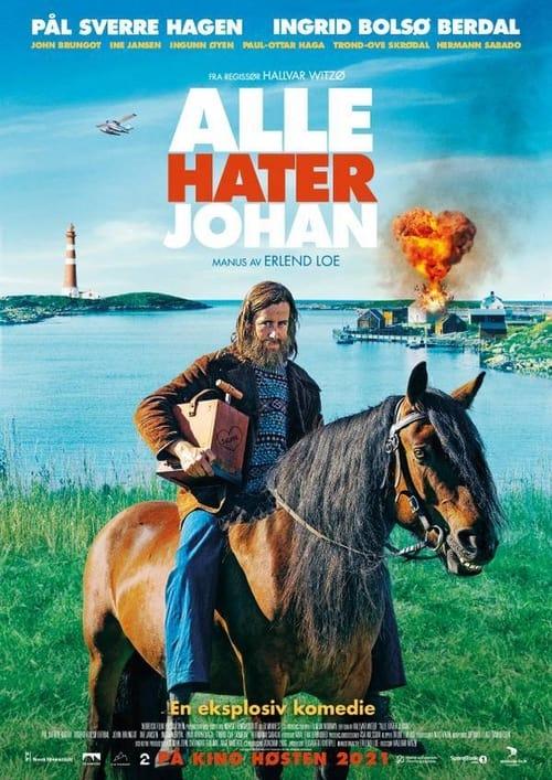 Alle hater Johan (2021) Poster
