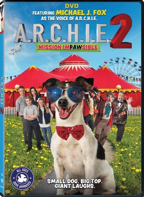 Sledujte Film A.R.C.H.I.E. 2: Mission Impawsible Online