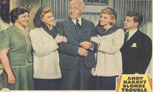 Andy Hardy's Blonde Trouble Online