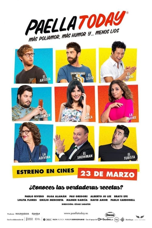 Watch PAELLA TODAY Online Full Movie
