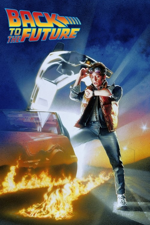 Poster for the movie, 'Back To The Future'