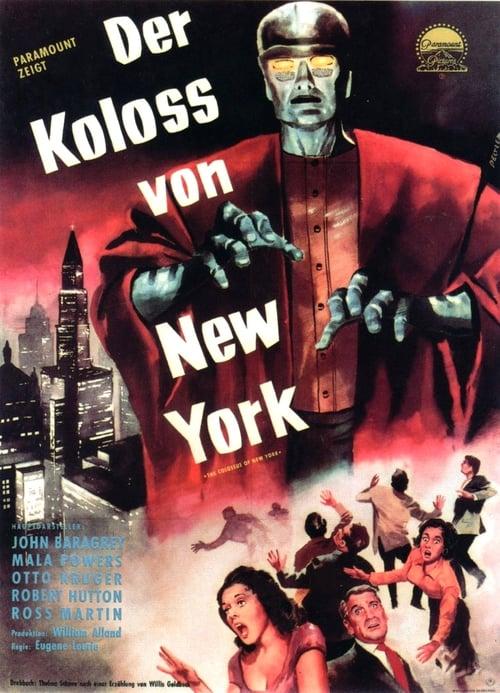 Vidéo Der Koloss von New York Plein Écran Doublé Gratuit en Ligne FULL HD 720