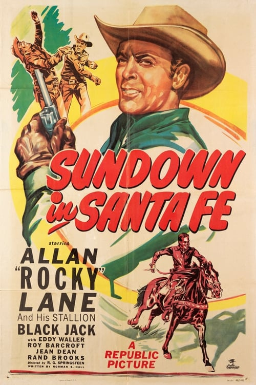 Largescale poster for Sundown in Santa Fe