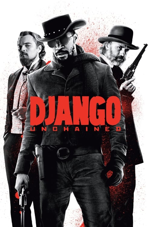 The poster of Django Unchained