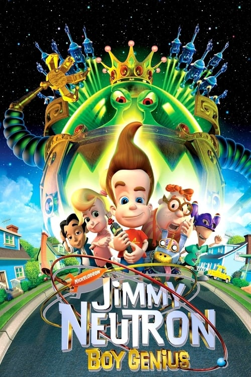 Largescale poster for Jimmy Neutron: Boy Genius