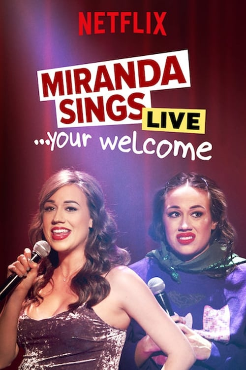 Miranda Sings Live... Your Welcome Poster