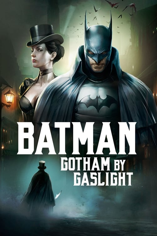 Poster. Batman: Gotham by Gaslight