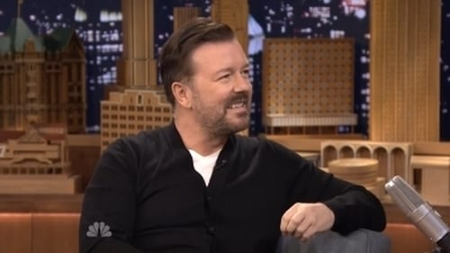 The Tonight Show Starring Jimmy Fallon: Season 1 – Episode Ricky Gervais, Ansel Elgort, Miranda Lambert