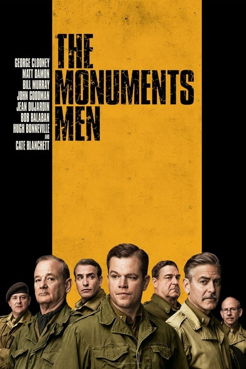 Watch The Monuments Men (2014) Movie Free Online
