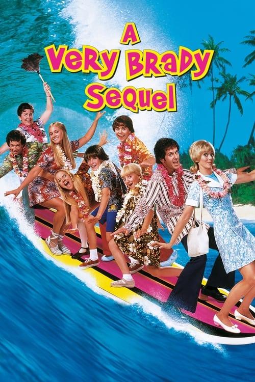 A Very Brady Sequel (1996) Poster