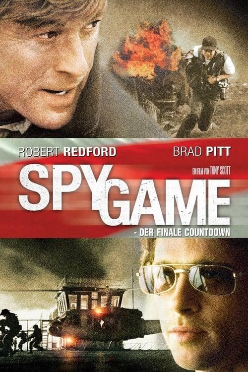 Poster von Spy Game -  Der finale Countdown
