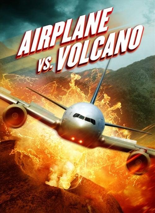 Poster von Airplane vs Volcano