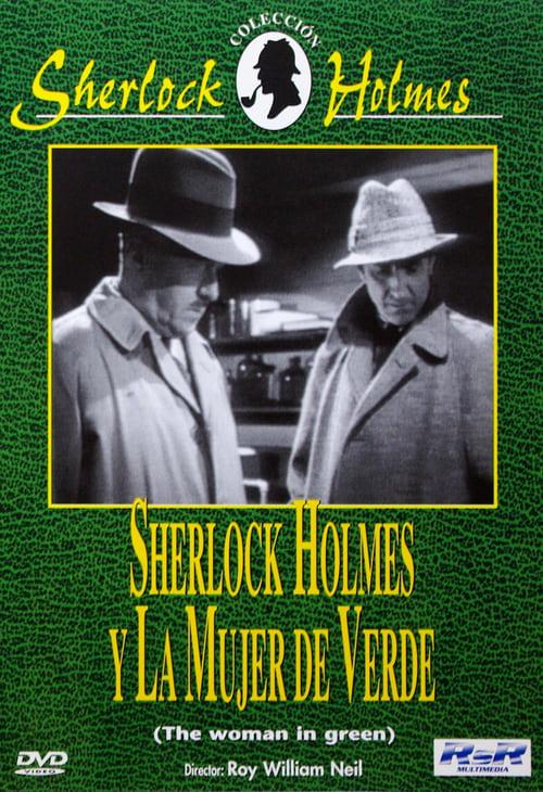 Película Sherlock Holmes y el caso de los dedos cortados (La mujer de verde) En Buena Calidad
