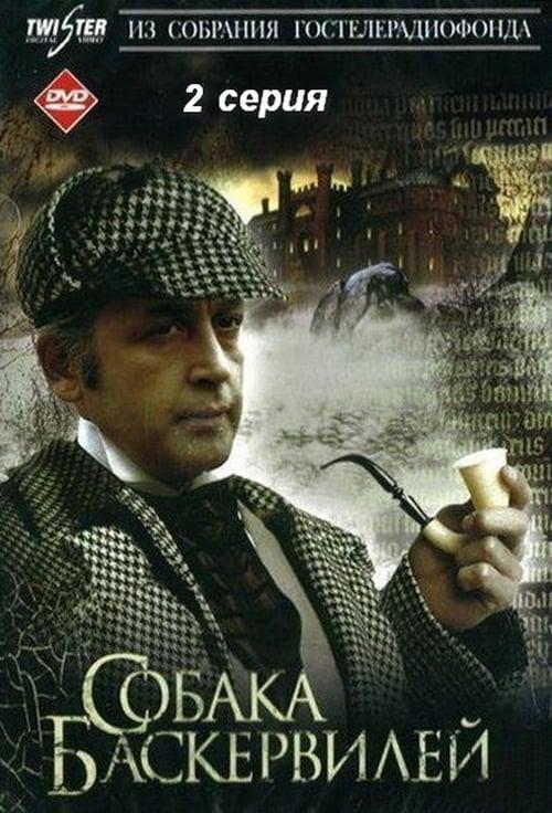 Largescale poster for Шерлок Холмс и доктор Ватсон: Собака Баскервилей ч2