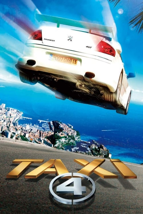 Taxi 4 (2007) Poster