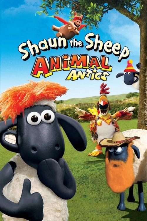 Largescale poster for Shaun the Sheep - Animal Antics