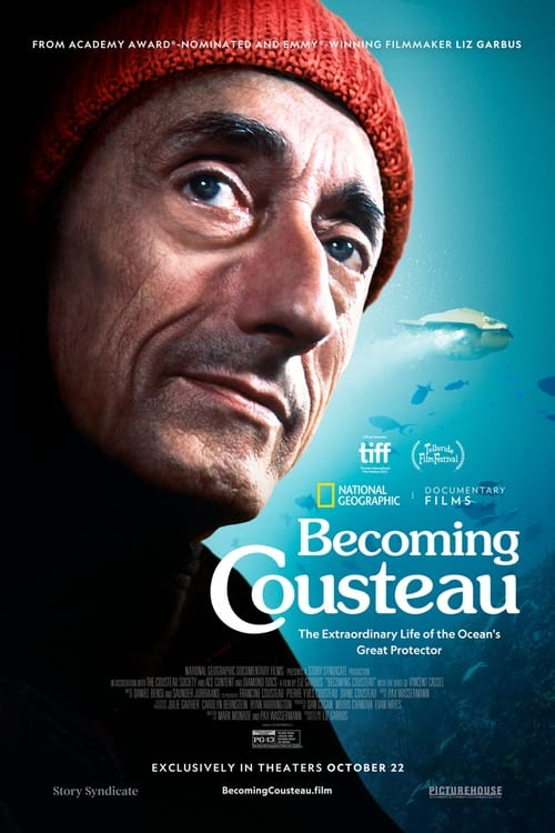 Becoming Cousteau (2021) Poster